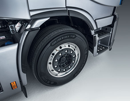 All-new eco tyres - New truck STRALIS XP IVECO