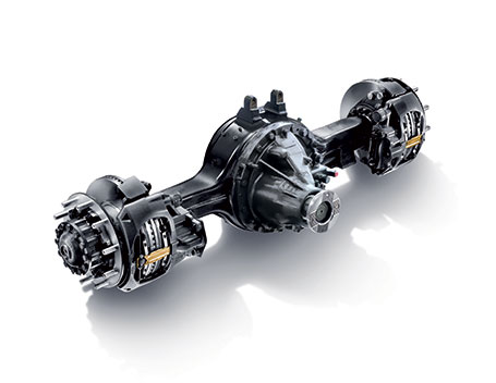 All-new rear axle - New truck STRALIS XP IVECO